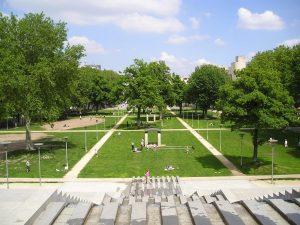 Parc de Bercy perros